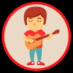 Logo del grupo Guitarristas del Ecuador
